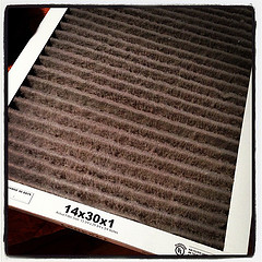 A new furnace filter.